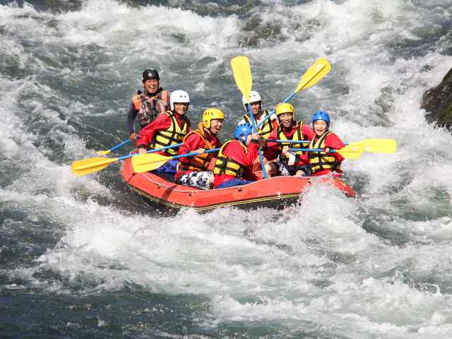 Rafting and Caving